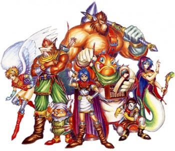 Breath of Fire – SNES