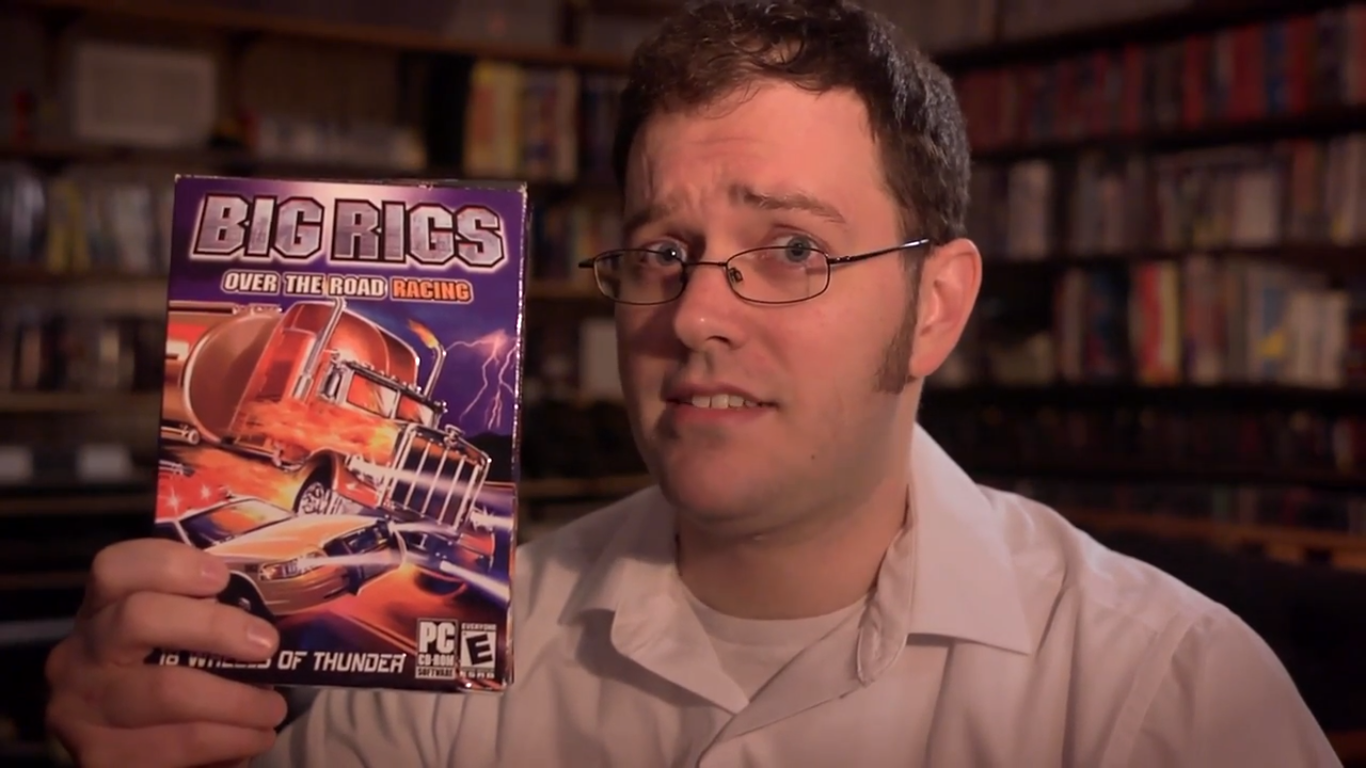 Angry Video Game Nerd 118 – Big Rigs