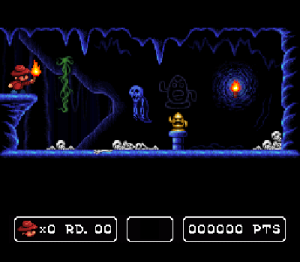 Sydney Hunter And The Caverns of Death SNES