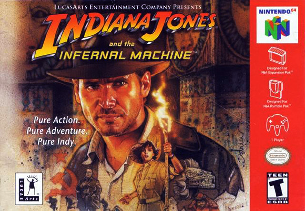 Indiana Jones et la machine infernale pour Nintendo 64 PAL refait surface