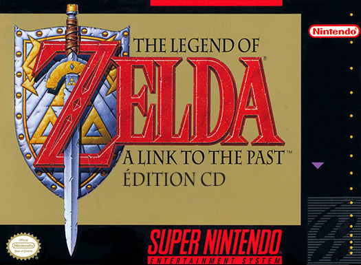 The Legend of Zelda: A Link to the Past avec CD audio et FMV