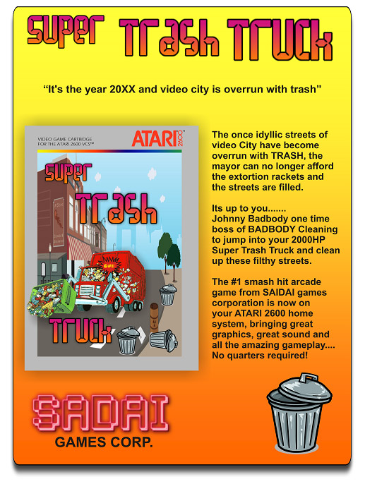 super-trash-truck-atari-2600-flyer