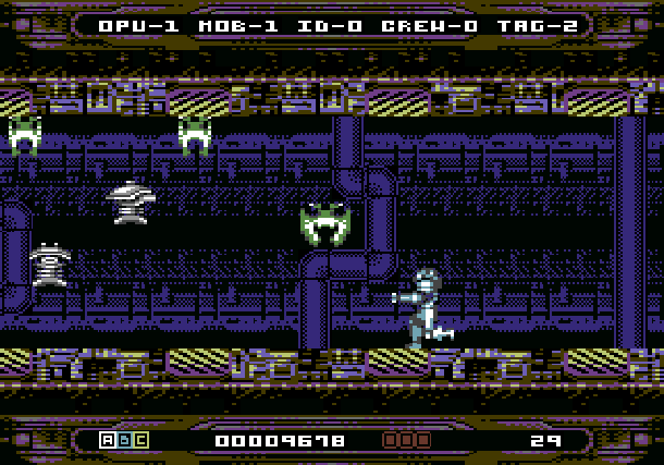 Hyperion, un cousin de Metroid sur Commodore 64