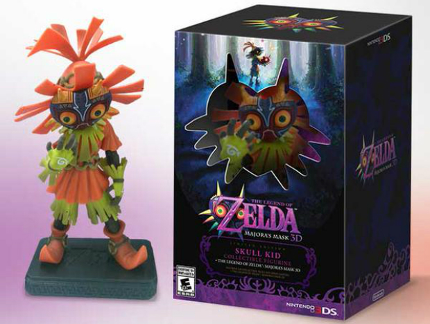 The Legend of Zelda Majora's Mask 3D en version collector pour l'Amérique du Nord !