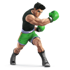 Little Mac dans Super Smash Bros 3DS et Wii U