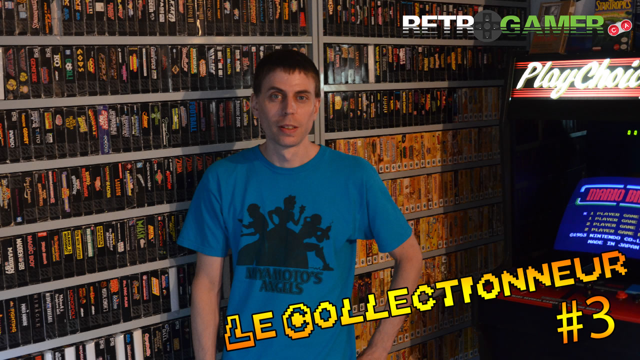 "Le collectionneur #3 – David ""Vidtendo"" [Nintendo, SEGA, Sony,…]"