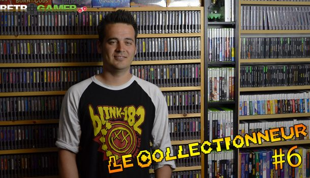 Le collectionneur #6 – Jonathan [Full Set NES, SEGA MS, Genesis, Gamecube, Xbox, …]